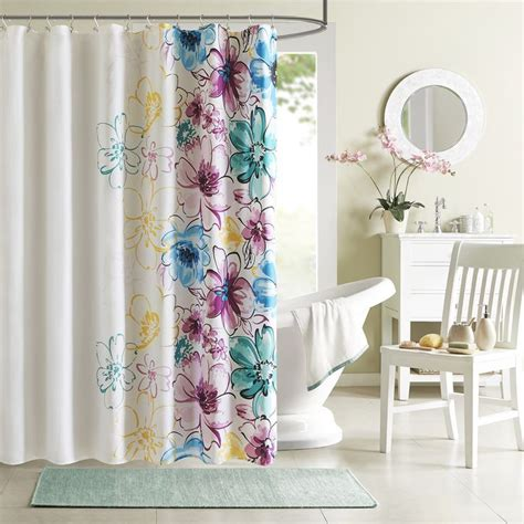 shower curtains with flowers 1000 ideas about floral shower curtains on pinterest