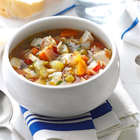 vegetable soup recipes south africa turkey vegetable soup recipe taste of home