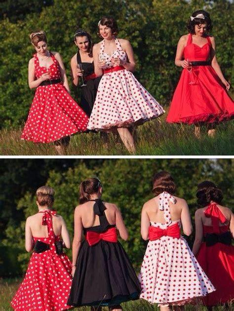pin up bridesmaids dresses wedding ideas wedding weddings and rockabilly wedding