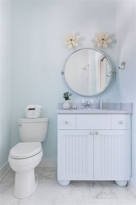 sherwin williams glimmer soft blue bathroom paint color