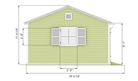 garden shed side preview