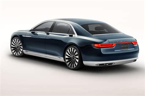lincoln on a lincoln continental concept look motor trend