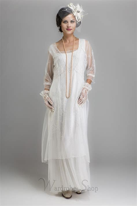 Wedding Dress Clothing by Edwardian Style Dresses Day Dresses Tea Gowns