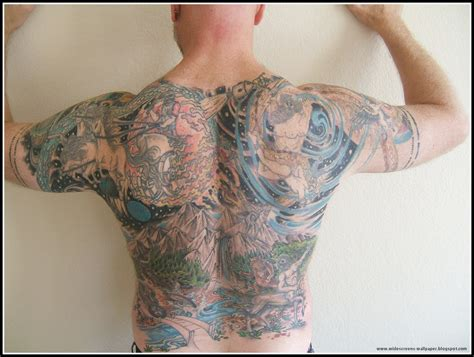 full back tattoos for men wallpaper collection for your computer and mobile phones