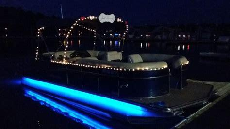 carefree boat club st augustine wedding on the tritoon carefree boat club