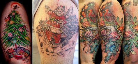 amazing christmas tattoo designs amp ideas 2013 2014 girlshue