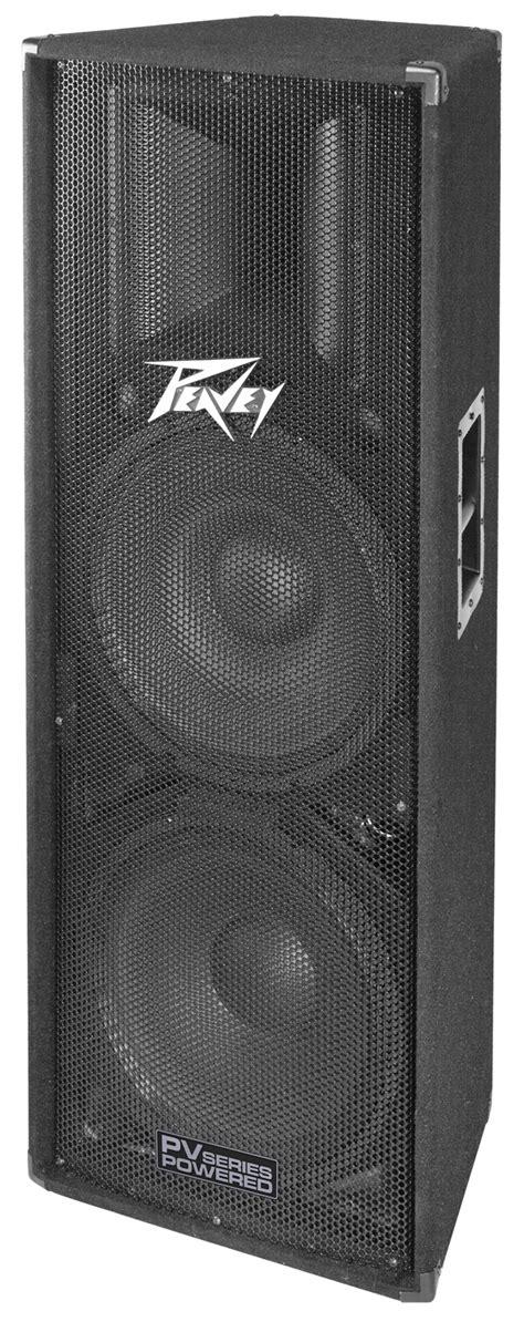 """Peavey PV 215D Pro Audio DJ Dual 15"""" 3-Way Class D 800W"""
