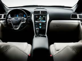 Ford Explorer 2015 Interior 2015 Ford Explorer Price Photos Reviews Features