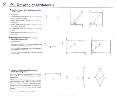 Drawing Quadrilaterals by Drawing Quadrilaterals Epva Biling 252 E Ingl 233 S Espa 241 Ol