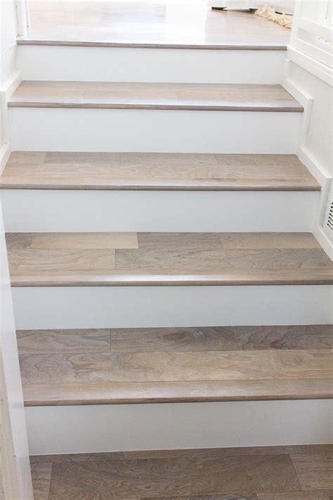 Hardwood Floor Stairs Hardwood Flooring As Treads Staircase Pinterest