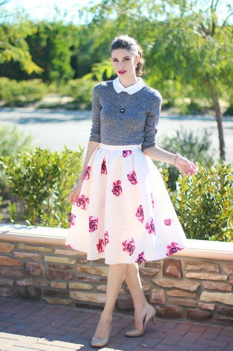 chic spring retro outfit ideas   girl