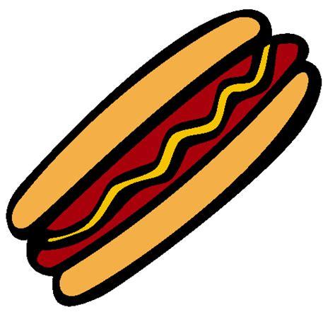 Imagenes De Un Hot Dog   dibujos de un hot dog para colorear imagui