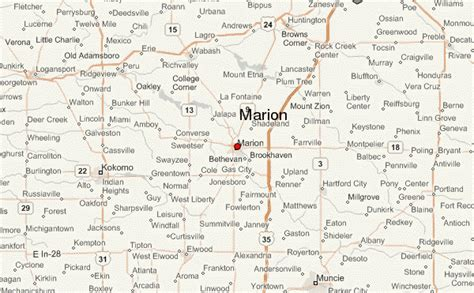 Marion Indiana marion indiana location guide
