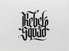 Calligraphy Logos | Scene360 Fashion Designs Sketches