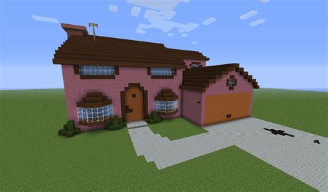 Minecraft Ideas Page 2 Of 8 Minecraft Seeds For Pc Simpsons House Minecraft Blueprints