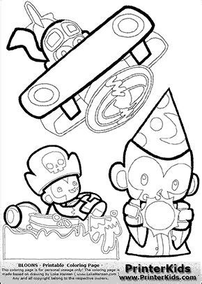 super monkey coloring pages 26 best ideas about bloons bday on pinterest special