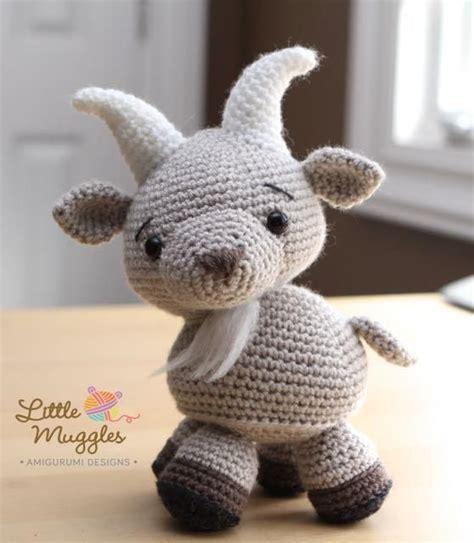 cute goat pattern amigurumi pattern gordy the goat crocheting patterns