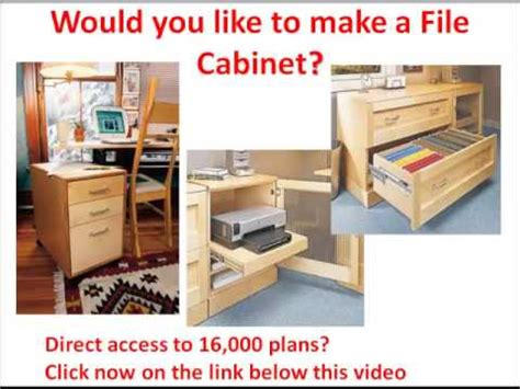 make your own file cabinet wood file cabinets would you like to make a file cabinet