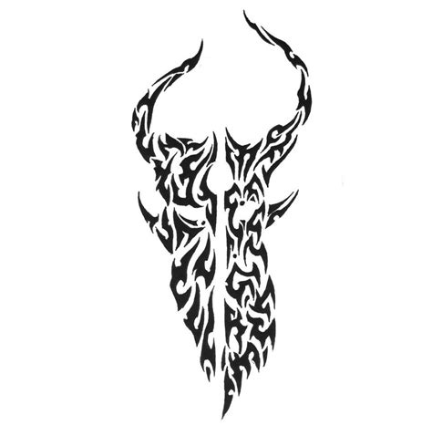 demon hunter tattoo designs skull by sorentalon on deviantart