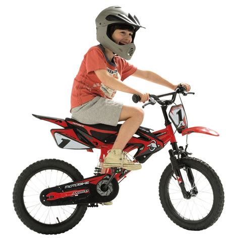 avigo motocross bike 16 quot avigo motobike full suspension kids bicycle moto bike