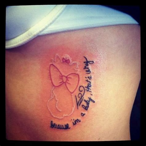 aristocats tattoo disney lil sis and the white on