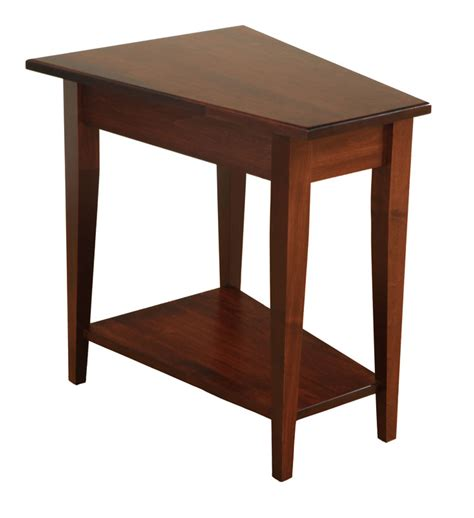 Wedge End Table by Shaker Wedge End Table Ohio Hardwood Furniture