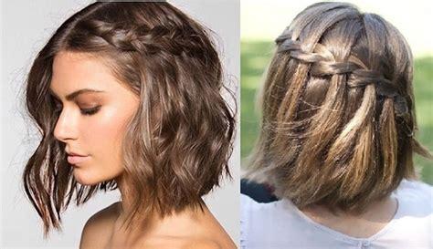 peinados para pelo corto con trenzas peinados con trenzas f 225 ciles para pelo corto largo y