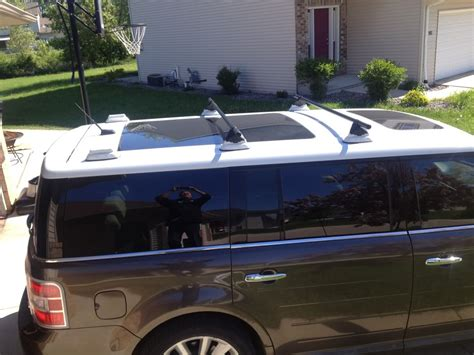 2010 Ford Flex Roof Rack by Installed A Roof Rack On Vista Roof Flex Ford Flex Forum