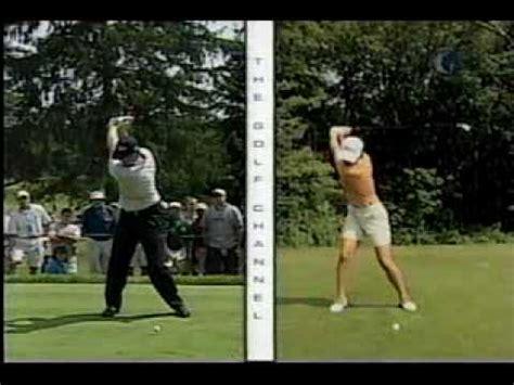 mickey wright golf swing ochoa sorenstam pettersen 2008 michelob ultra funnycat tv