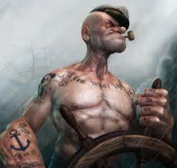 top popeye with tattoos tattoo s in lists for pinterest
