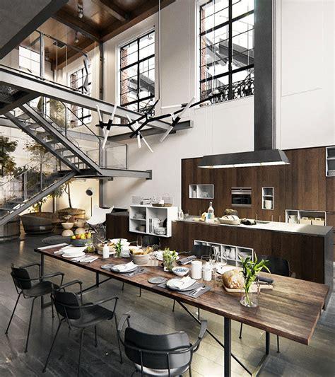 big loft arredamento stile industriale per loft 30 idee dal design