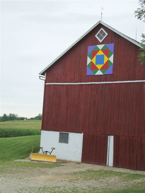 Shawano County Barn Quilts barn quilts abound in shawano county quilt addicts anonymous