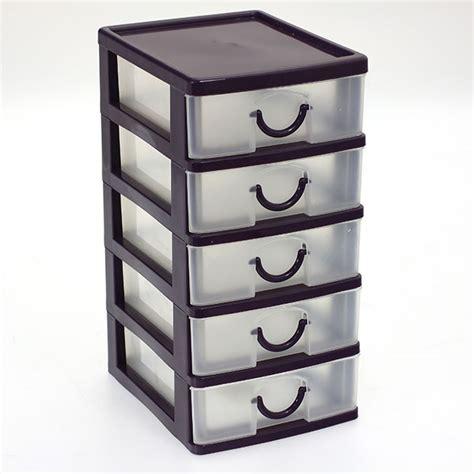 boite de rangement plastique tiroir bloc avec boites de rangement 5 tiroirs