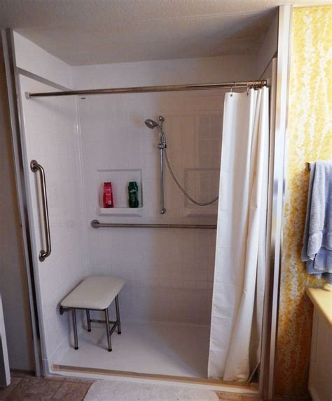 ada shower curtain 17 best images about barrier free shower on pinterest