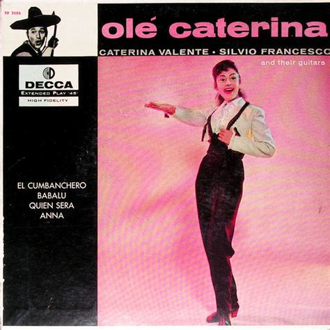 caterina valente silvio francesco 45cat caterina valente silvio francesco caterina