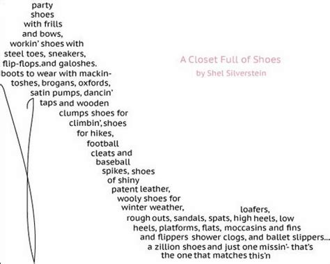 In Closet Poem by Shape Shoe Closet And Shoes On