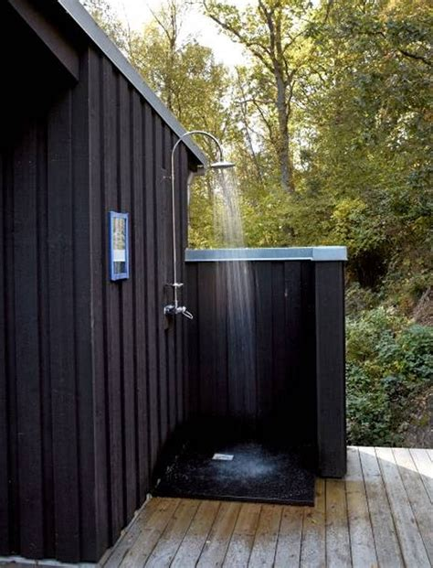outdoor showers and bathroom ideas