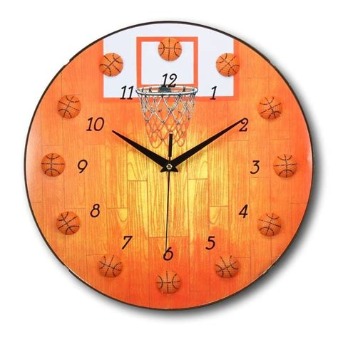 wall clock for bedroom tarowing club 18 best basketball themed bedroom images on pinterest