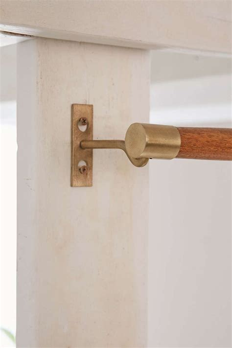 oak curtain rods best 25 wooden curtain rods ideas on pinterest curtain