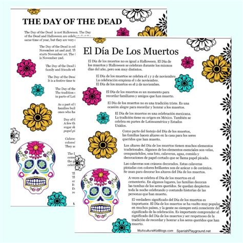 dia de los muertos crafts for easy day of the dead crafts for class