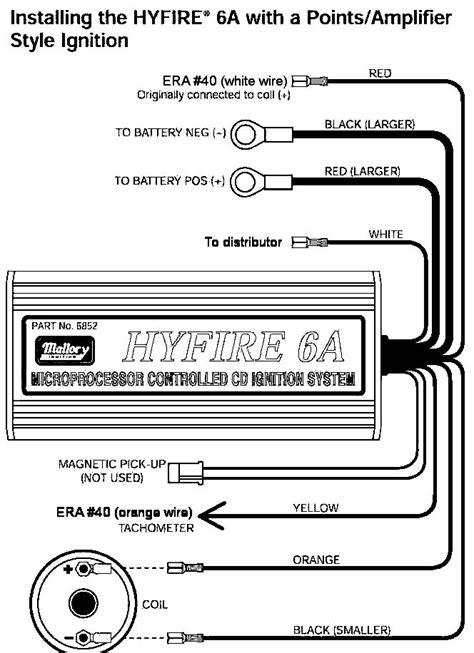 mallory unilite distributor wiring mallory free engine