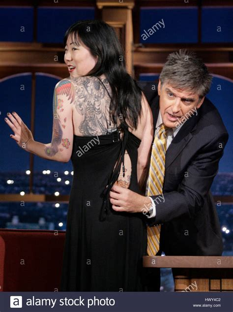 craig ferguson tattoos margaret cho left shows tattoos to host craig