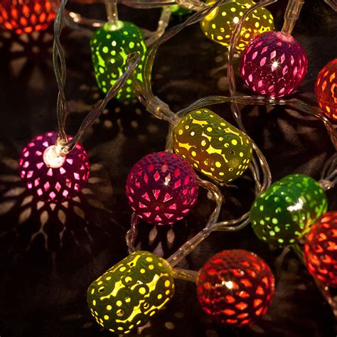 Battery Neon Maroq String Lights By All Things Brighton Neon String Lights