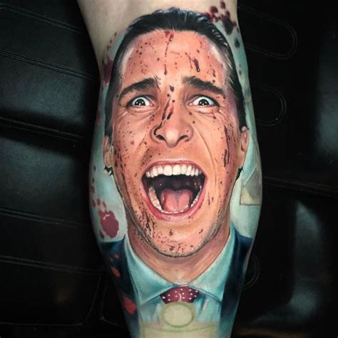 american psycho tattoo 25 unique psycho ideas on flash