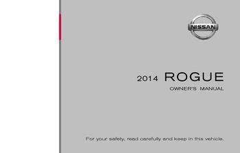 2014 nissan rogue owner s manual pdf 442 pages