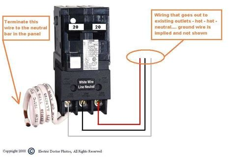 wiring diagram for a breaker box home wiring a breaker box