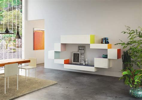 modular living room storage add a pinch of accent color to the living room with trendy modular storage units decoist