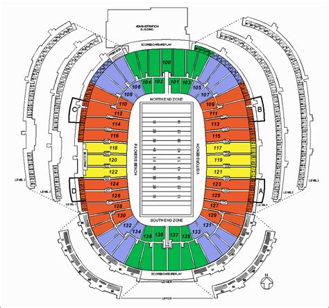 seating chart lambeau image gallery lambeau seating