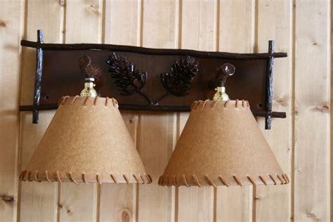 pine cone vanity lights pine cone vanity light frontier iron works