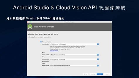 android cloud android studio cloud vision api 玩圖像辨識
